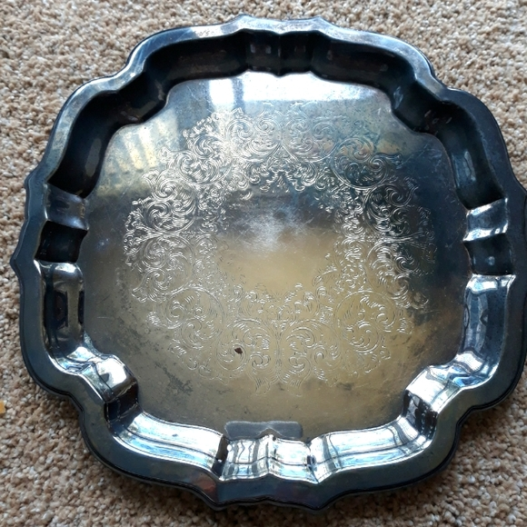 Vintage Oneida Silversmiths tray